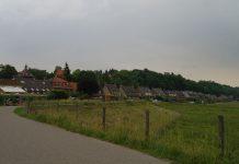 De Veerweg in Wageningen.