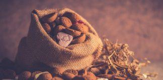 De zak van Sinterklaas.