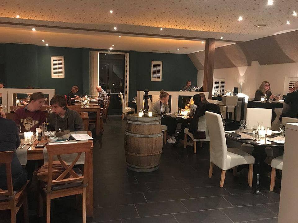 Het nieuwe interieur van restaurant Zout en Peper in Wageningen.