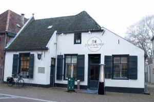 Restaurant Zout en Peper op 5 Mei plein in Wageningen.